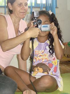 Shine a Light - Children Filming